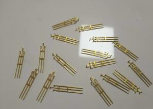 China Cam Shaft Terminal Deep Drawing Sheet Metal Brass Stamping Parts ISO Approval on sale