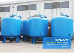 China Blue Auto Multimedia Filters Water Treatment 95-99% Desalting Rate For Water Purification Plant on sale