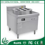 8000W Commercial Induction Steamer Cooker Free Standing Design
