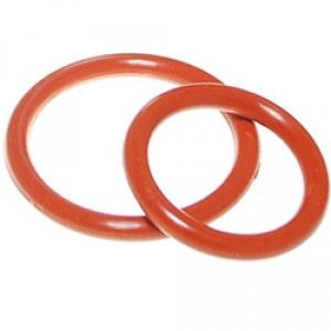 China Aging Resistant Silicone Rubber O Rings Seal Gasket Food Grade For Customized Request on sale