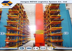 China Warehouse Structural Cantilever Shelves , Steel Cantilever Pipe Rack on sale