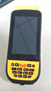 China 4.3 inch Rugged 1D 2D Barcode Scanner HandHeld Rfid Reader with Android 4.0 OS on sale