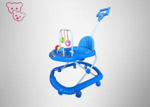China Rotatable Wheels Foldable Baby Walker Safe Colorful Plastic Numerous Strict Tests on sale