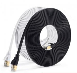 China Flat 3m UTP Network LAN Cable CAT5e Patch Cord on sale