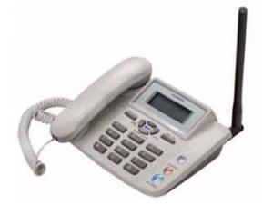 China CDMA fixed wireless home phone with SIM card , FM wireless landline phone with FM radio ETS2028 on sale