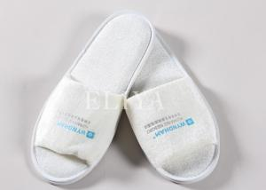 9b15fed4bf7 Cotton Velour Closed Toe Terry Disposable Hotel Slippers   Hotel Bathroom