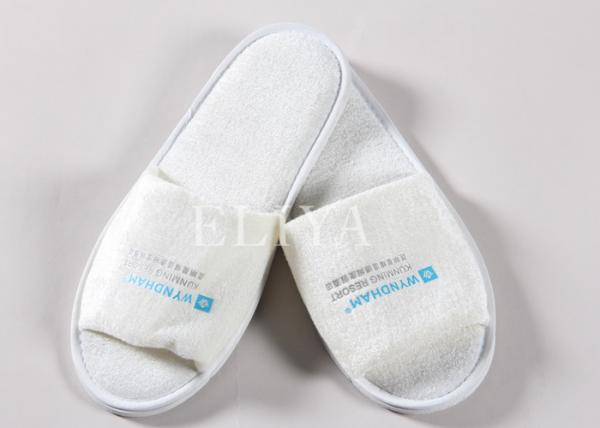 773296f987d Cotton Velour Closed Toe Terry Disposable Hotel Slippers   Hotel Bathroom  Images