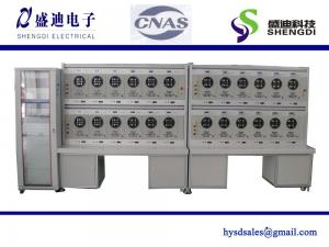 China HS6103 Round ANSI SOCKET Three Phase Energy Meter Test Bench ANSI 2S 1P3W Electricity meter,Accuracy 0.05% Class on sale