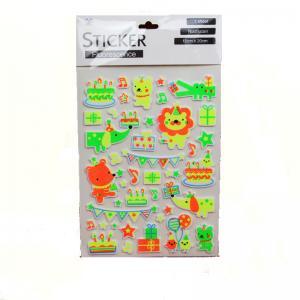 China 3D EVA Foam Self Adhesive Sticker Book Printing Wall Decorative Paper on sale