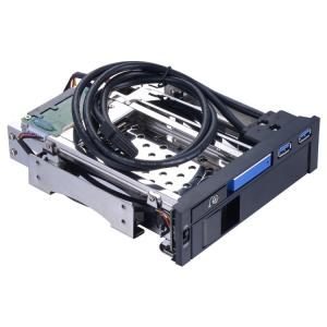 China Unestech 2.5in sata aluminum enclosure case to 3.5 sata hard drive caddy tray backplane 5.25in hdd docking PC bay hdd en on sale