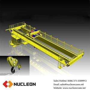 China Nucleon Hot Sale 50 ton Wheel Overhead Crane on sale