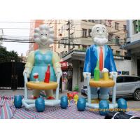 Commercial Inflatable Cartoon Characters Display With Logo Printing /  inflatable sarah