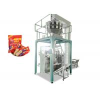 Vertical Oats Chocolate Sachet Packing Machine Full Automatic 2.2kw
