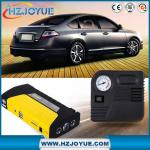 12v car jump starter with tire air pump compressor emergency hammer