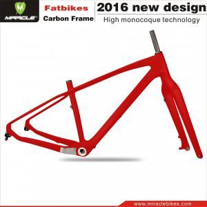 China Full carbon Fat bike,T700 snow bike frmae,China carbon fat bike frame on sale