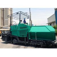 10.5m Width Asphalt Equipment Rental , 400 / 500 mm Thickness Concrete Paver Machine