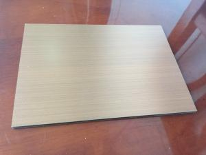 China Brushed Copper Composite Panel 2000mm Length High Intensity For Ceiling on sale