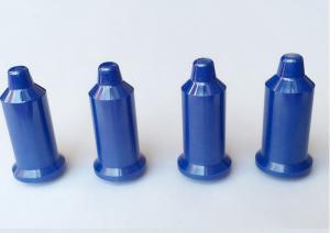 China Blue Custom Ceramic Pins Zirconia Ceramic Centering Pin For Automobile Welding Field on sale