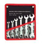 clé excentrée d'anneau de clé ouverte réglée de double de clé combinée