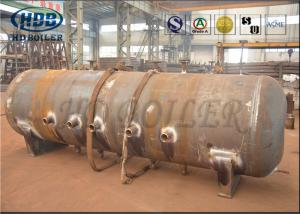 China ASME Standard Produce Superheatered And Saturated Steam Boiler Drum 100mm Thickness on sale