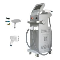 China Extra Cooling Head Portable Laser Hair Removal Machines Simultaneous Contact Cooling on sale