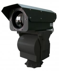 China Outdoor PTZ Security Thermal Imaging Camera Digital Amplification on sale