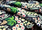 Deluxe Floral Multi Colored Lace Fabric for Heavy Embroidered Haute Couture Costume