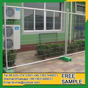 China Manhattan temporary swimming pool fence Whitehorse temporary wire mesh on sale