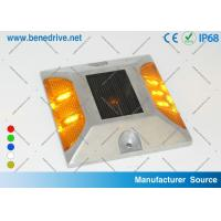 China Aluminum Solar Powered LED Raised Pavement Markers Road Light 10 Tons Resistance on sale