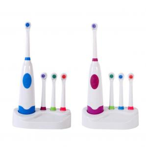 China Family Electric Toothbrush Rechargeable Battery With Holder Unique Design on sale
