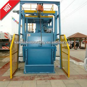 China QR3210 tumble belt type wheel blast cleaning machine/sand blaster on sale