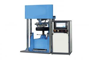 China Servo Control System Impact Test Equipment Tire Strength Testing Machine 0~299mm / Min on sale