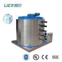 Stainless Steel SUS304 Flake Ice Evaporator , Anti - Corrosion Refrigeration Evaporator Drum