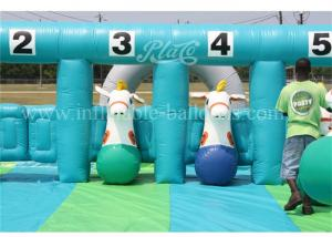 China Horse Riding Inflatable Sports Games on sale