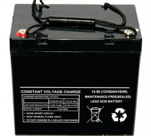 China Гель и глубокий цикл загерметизировали силу UPS электрической системы инвертора свинцовокислотной батареи 12v 50ah on sale