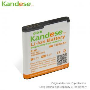 China Repalcement 1300mAh Capacity Mobile Phone Battery For Blackberry E-M1 EM1 E M1 9360 9350 9370 9380 Batterie Batterij on sale