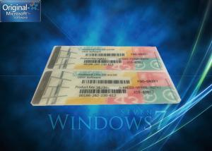 Quality Genuine Windows 7 Professional Product Key One Key COA License For One PC for sale