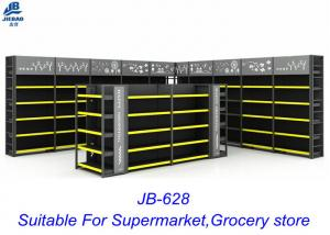 China Modern Retail Grocery Display Racks For Larger Scale Luxury Supermarkets on sale