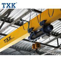 Electric Hoist 5 Ton Overhead Crane / Single Girder Industrial Overhead Crane