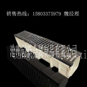 China 20years be used stone colour Polymer Drain Trench (1000*250*205mm) Polymer Concrete Drain Trench with Stainless Steel Co on sale