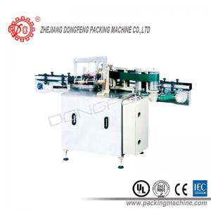China Shift Motor Driven Cosmetics Wet Glue Labeling Machine For Glass Bottles on sale