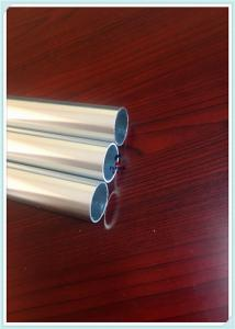 China 6063 T5 Extruded Aluminium Hollow Profile Anodized Aluminum Pipe Thinkness 1.8MM on sale