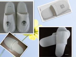 China Slipper/hotel Slipper/toweling Slipper/ Waffle Slipper on sale