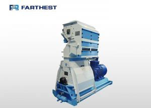 China Palm Tree Leaves Hammer Mill Machine Siemens Motor Drived Steel Material on sale