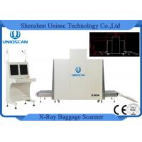 SF100100 Airport Security Baggage Scanners , X Ray Cargo Scanner Big Tunnel Size