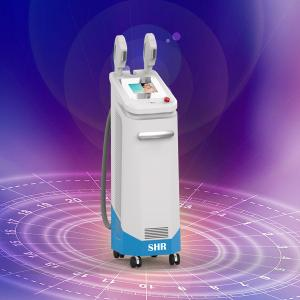 China Most professional two Handles Big Spot SHR IPL Laser Quantum Machines for hair removal on sale
