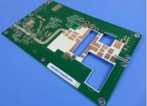 China 8layers of 2nd order HDI High Frequency PCB Made on ISOLA370HR with White Silkscreen on Top Side rotopcb board prototype on sale