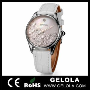 China 2014 Custom Fashion Women Stainless Steel japan movt wrist Watch on sale