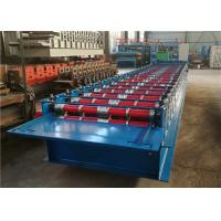 Joint Hidden Standing Seam Roll Forming Machine , Roof Panel Machine 20 Rollers