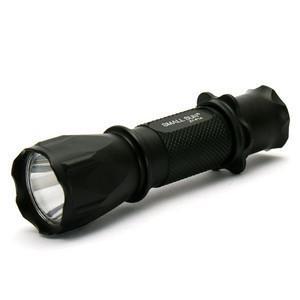 China competitive price aluminium alloy oem logo 9pcs High power led flashlight torch on sale